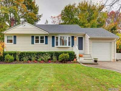Smithtown Single Family Home For Sale: 11 Gedney Ave