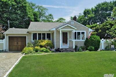 Hauppauge, Nesconset Single Family Home For Sale: 7 Raleigh Ln