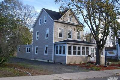 Patchogue Single Family Home For Sale: 473 S Ocean Ave