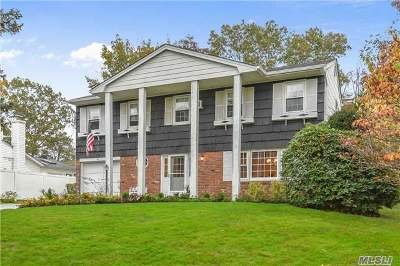 Hauppauge Single Family Home For Sale: 63 Schneider Ln