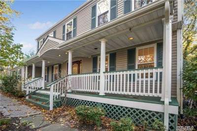 Setauket Single Family Home For Sale: 532 Pond Path Path