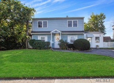 Levittown Single Family Home For Sale: 168 Orchid Rd