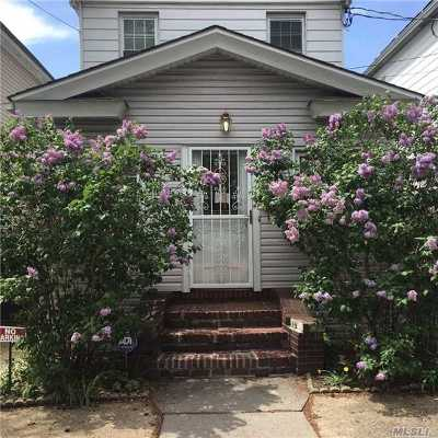 Woodhaven Single Family Home For Sale: 85-46 98th St