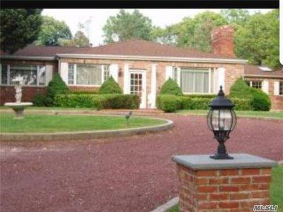 Setauket Single Family Home For Sale: 88 Van Brunt Manor