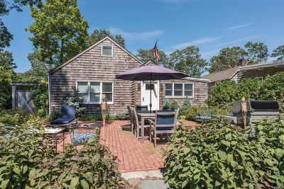 Sag Harbor Single Family Home For Sale: 54 Poplar St