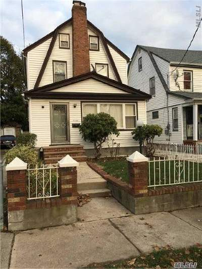 Queens County Single Family Home For Sale: 113-15 201st St