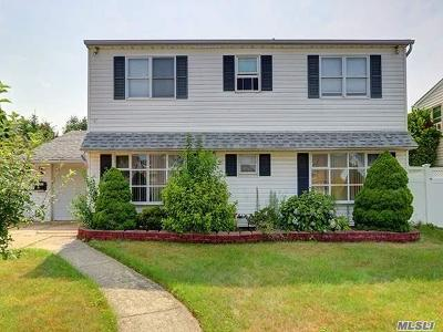Hicksville Single Family Home For Sale: 24 Picture Ln
