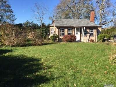Remsenburg Single Family Home For Sale: 3 Dock Rd