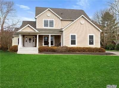 Center Moriches Single Family Home For Sale: 13 Estate Rd