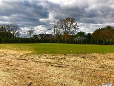 Southampton Residential Lots & Land For Sale: 45 Middle Pond Rd