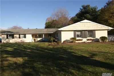Stony Brook Single Family Home For Sale: 255 Hallock Rd