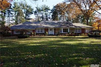 Old Westbury Single Family Home For Sale: 1 Haddington Dr