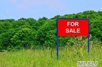 Manorville Residential Lots & Land For Sale: V/L Weeks Ave