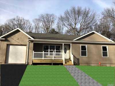 Centereach Single Family Home For Sale: Henry St
