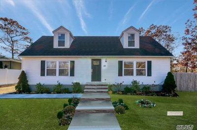 Lake Ronkonkoma Single Family Home For Sale: 50 10th St