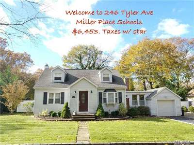 Miller Place Single Family Home For Sale: 246 Tyler Ave