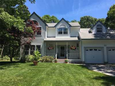 Westhampton Single Family Home For Sale: 18 Woodhollow Drive