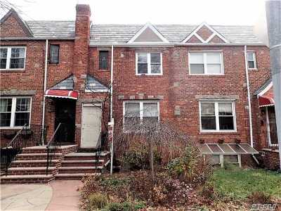 Forest Hills Single Family Home For Sale: 95-22 67 Ave