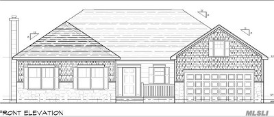 Manorville Single Family Home For Sale: Lot 3 Eastport Manor Rd