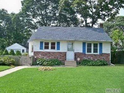Centereach Single Family Home For Sale: 12 Virginia St