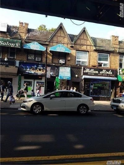 Queens County Commercial For Sale: 78-13 Roosevelt Ave