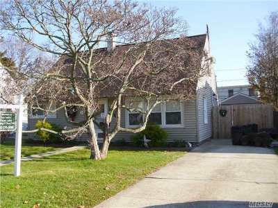 N. Bellmore Single Family Home For Sale: 2480 Hull Ave