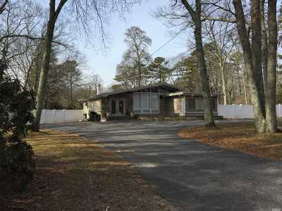 Coram Single Family Home For Sale: 224 Pine Rd