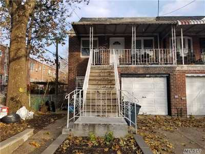 Jackson Heights Multi Family Home For Sale: 32-11 72nd St.