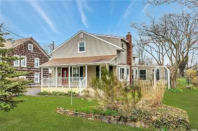 Sayville Single Family Home For Sale: 119 Lincoln Ave