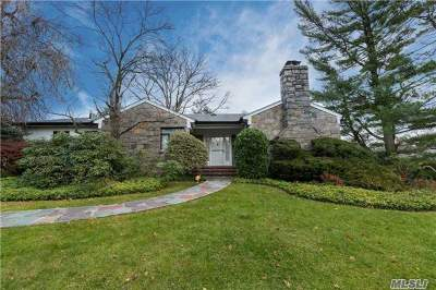Great Neck Single Family Home For Sale: 20 Hickory Dr