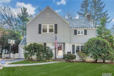 Port Washington Single Family Home For Sale: 10 Alden Ln