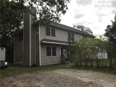Hampton Bays Single Family Home For Sale: 12 N Westbury Rd