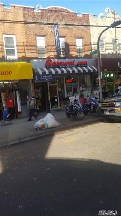 Queens County Commercial For Sale: 95-13 Roosevelt Ave