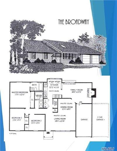 Centereach Single Family Home For Sale: N/C Manhattan Ave