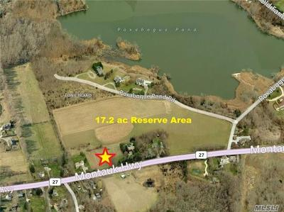 Bridgehampton Residential Lots & Land For Sale: 2892 Montauk Hwy