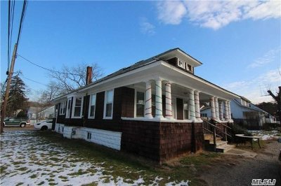 Holbrook Single Family Home For Sale: 223 Union Ave