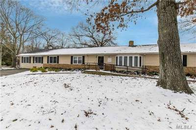 Oakdale Single Family Home For Sale: 135 Idle Hour Blvd