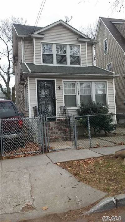 Queens County Single Family Home For Sale: 114-43 139th St