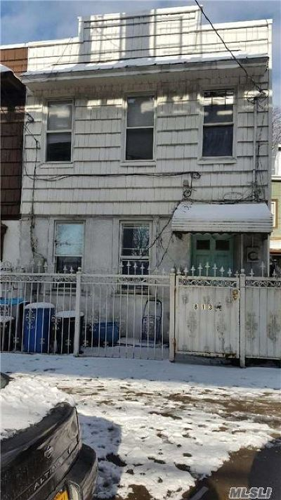 Ozone Park Single Family Home For Sale: 8135 Liberty Ave