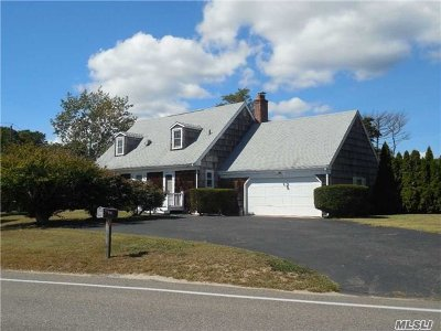 Hampton Bays Single Family Home For Sale: 10 Rampasture Rd