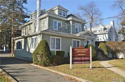 Nassau County Commercial For Sale: 41 Hilton Ave