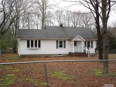 Middle Island Single Family Home For Sale: 3 Devon Ln