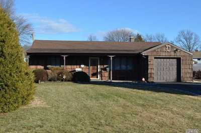 West Islip Single Family Home For Sale: 549 Peter Paul Dr