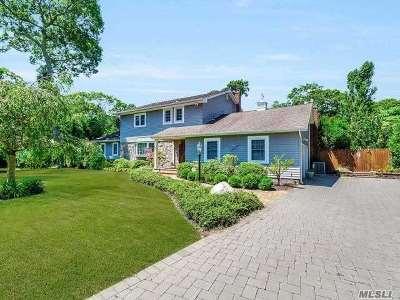 Center Moriches Single Family Home For Sale: 4 Hewitt Blvd