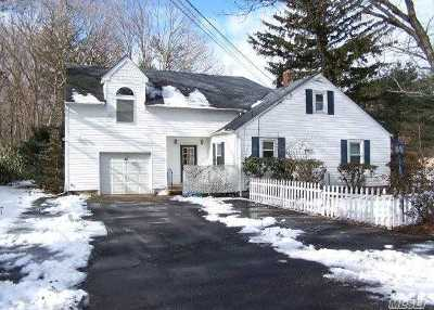 Shoreham Single Family Home For Sale: 122 Route 25a