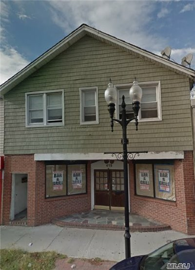 Patchogue Commercial For Sale: 415 E Main St