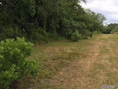 Aquebogue Residential Lots & Land For Sale: Hubbard Ave
