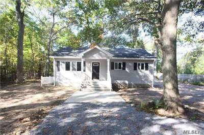 Middle Island Single Family Home For Sale: 36 Wellington Rd