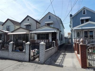 Ozone Park Single Family Home For Sale: 111-14 124th St
