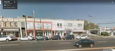 Great Neck Commercial For Sale: 11-19 Northern Blvd